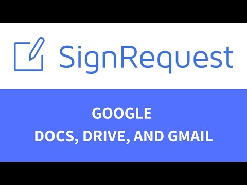 Electronic Signature for Google Docs, Drive and Gmail