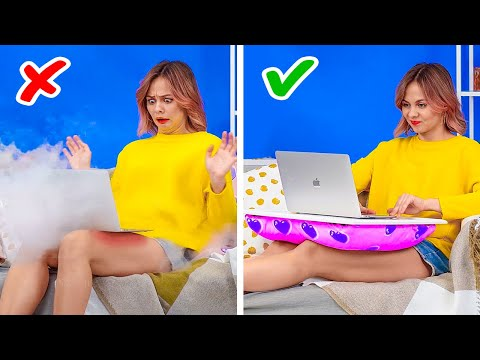 GENIUS LIFE HACKS THAT WORK MAGIC! || Useful Tips And Tricks By 123 GO! GOLD