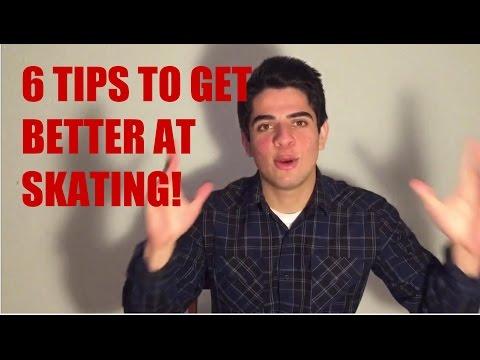 6 TIPS TO GET BETTER AT SKATEBOARDING!
