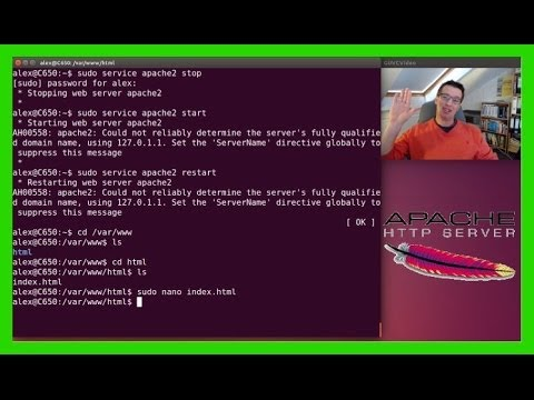 Apache Webserver in Ubuntu 16.04 18.04 installieren / Grundinstallation und Testen [Deutsch/German]