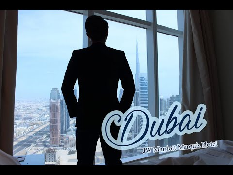Travel: Vacation In Dubai | Stay At The Tallest Hotel In The World JW Marriott Marquis Hotel |