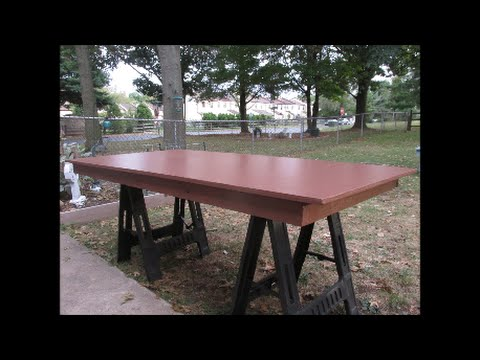 Outdoor Workbench With Folding Legs Part 1 - Make #2