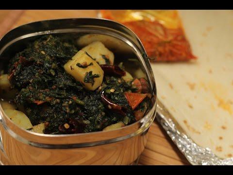 Palak Aloo ki Sukhi Sabzi | Tiffin Treats by Roopa Nabar | Sanjeev Kapoor Khazana