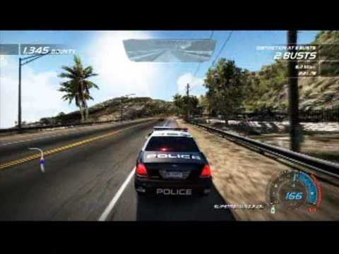 Need For Speed Hot Pursuit Ford Crown Victoria Interceptor Chase