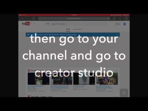 How to change your YouTube username on a mobile device *(old video)*
