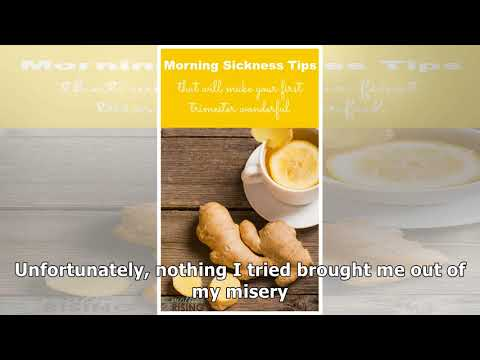 6 Morning Sickness Remedies Worth Trying