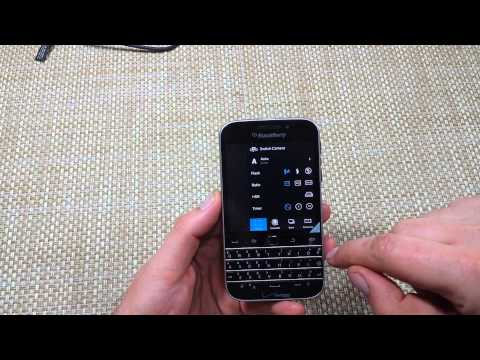 Blackberry Classic Change default camera storage location so photos are saved to SD Memory Card