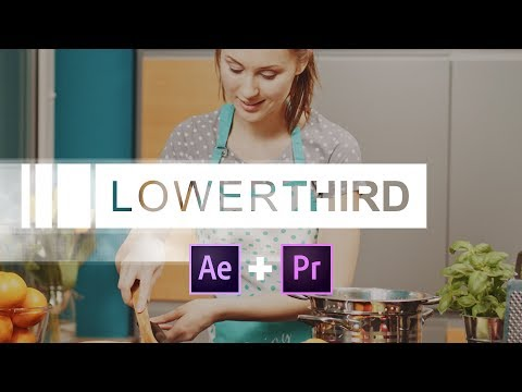 Create a Lower Third in After Effects & use it in Premiere Pro with Live Text Templates