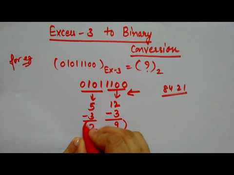 Excess 3 to binary