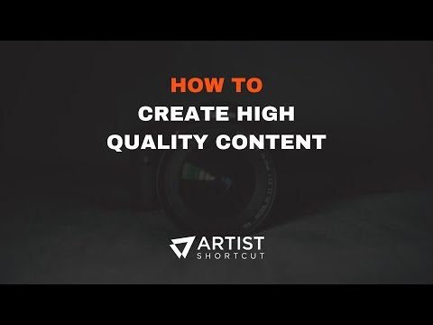 Tips For Creating High-Quality Content As A Music Artist