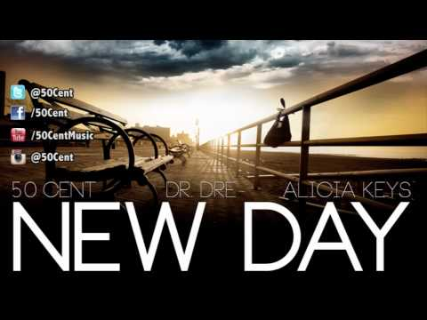 New Day by 50 Cent ft Dr Dre & Alicia Keys (Dirty - Audio)   50 Cent Music