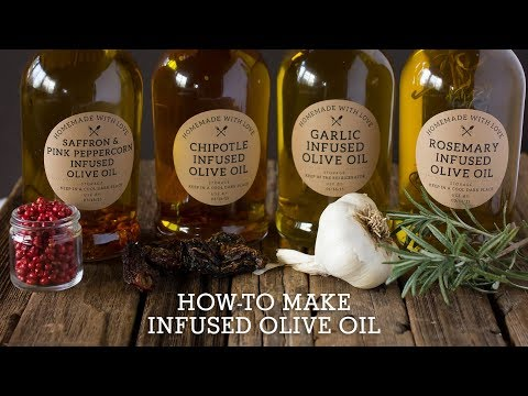 How-to Make Infused Olive Oils