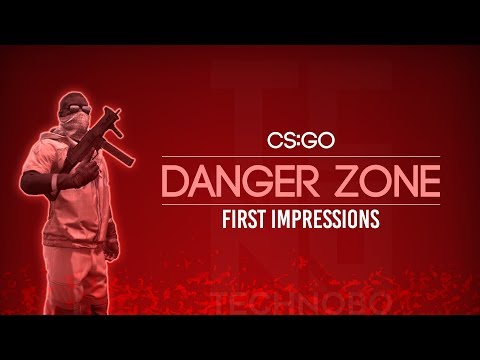 HOW THE FIRST HOURS OF CS:GO DANGER ZONE OCCURED (CRAZY)