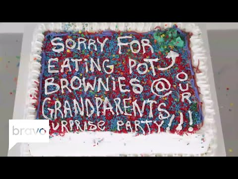 Bake Amends: Sorry for Getting Stoned at Grandma's Party | Bravo