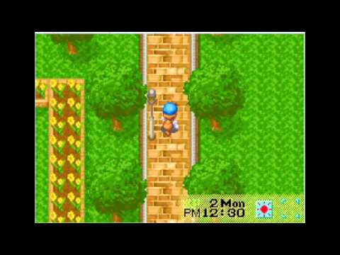 HARVEST MOON  Friends of Mineral Town - Day 1 Easy Money