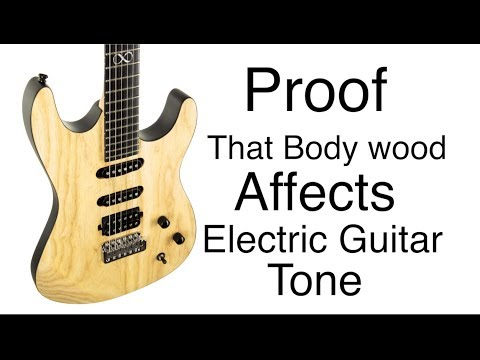 PROOF - Wood Affects Electric Guitar Tone - Chapman