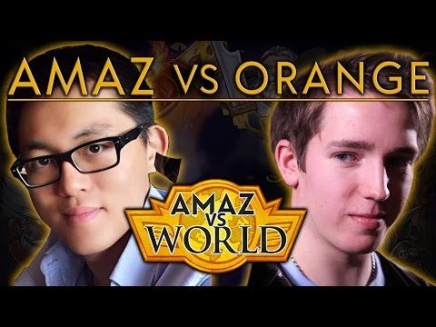 [Hearthstone] Amaz VS World - Amaz VS Orange Ep 9