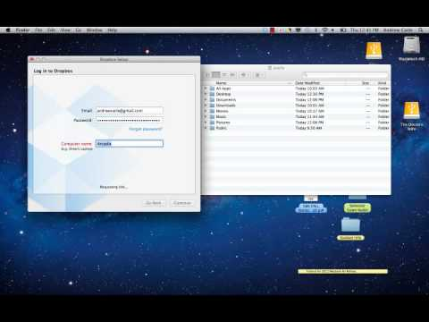 2012 Rollout Firststeps - Configure Dropbox.mp4