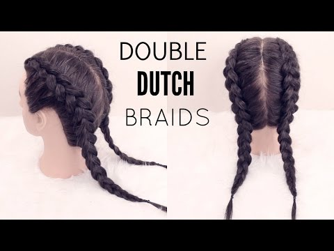 How To: Double Dutch Braid | Hair Tutorial