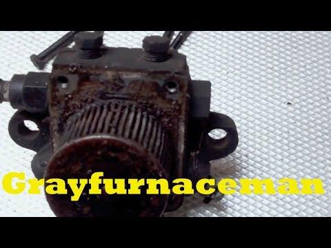 A look at an oil burner pump failure and the reason for the failure.