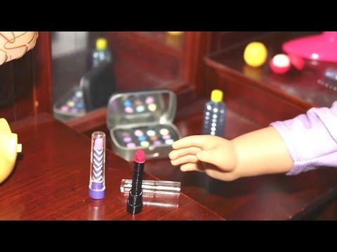 DIY American Girl Doll Lipstick & Lip Balm