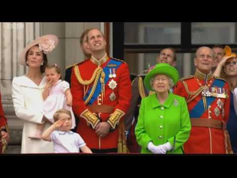 Queen's Birthday Flypast 2016 BBC coverage