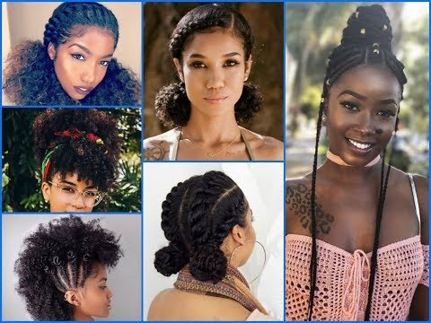 20+ Cute Summer Hairstyles Ideas For Girls With Natural Hair