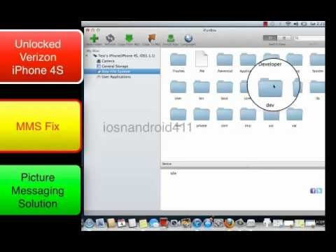 Set Up MMS Picture Messaging For T-mobile on Your Unlocked iPhone 4S Verizon Tutorial Part 1
