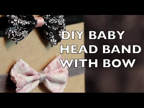 How To Make a Baby Headband with a Bow