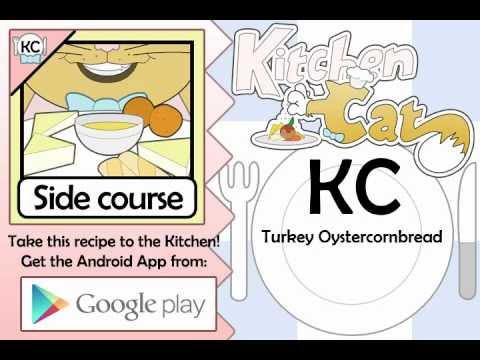 Turkey Oystercornbread - Kitchen Cat