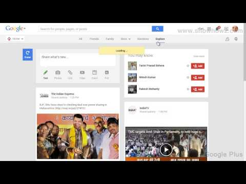 Google+ - How To See Whats Hot On Google Plus