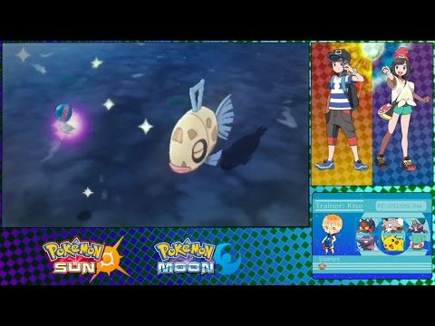 Where to find Feebas in Pokemon Sun and Moon?