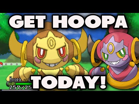 HOW TO GET HOOPA in Pokemon X and Y (SHINY/PERFECT IV) - Powersaves Hoopa Update - How To Get Hoopa