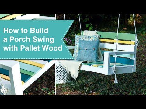 Using Krazy Glue to Build a Porch Swing