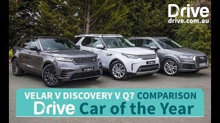 Audi Q7 v Velar v Discovery | Best Luxury SUV Over $80,000