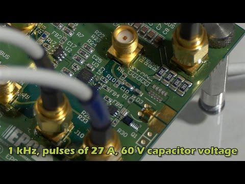 GaN Laser Diode Driver for LiDAR Applications