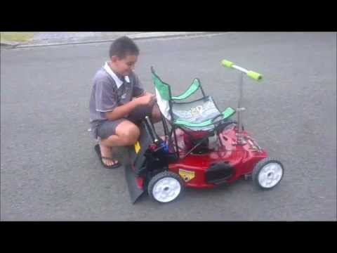 Lawn Mower Go Cart