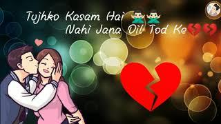 Beech Safar Me Kahi Mera Sath Chod Ke WhatsApp status / बीच सफर में कही मेरा शत छोड़ के स्टेटस
