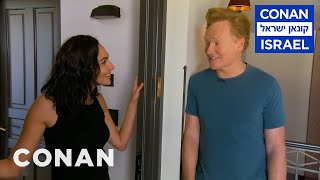 Conan Invites Himself To Gal Gadot