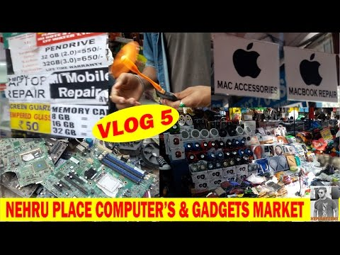 Nehru place computer market cheapest rate (ram, laptop, accessories, computer assembling) vlog-5