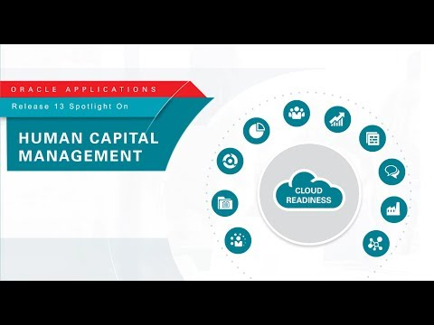 Oracle Applications Release 13 Spotlight on Human Capital Management
