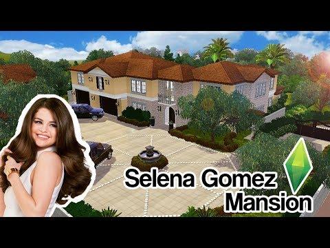 The Sims 3 Let's Build Selena Gomez Mansion + House Tour