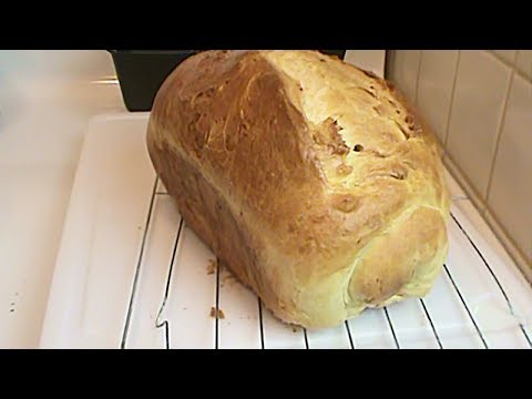 The 4 Year Old Bakes:  Super Rich White Bread