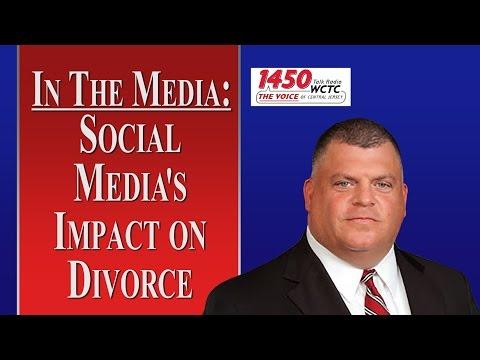 Social Media's Impact on NJ Divorce (WCTC Radio)