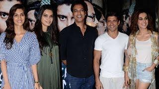 Lucknow Central Movie Special Screening   Taapsee Pannu, Kriti Sanon, Farhan Akhtar