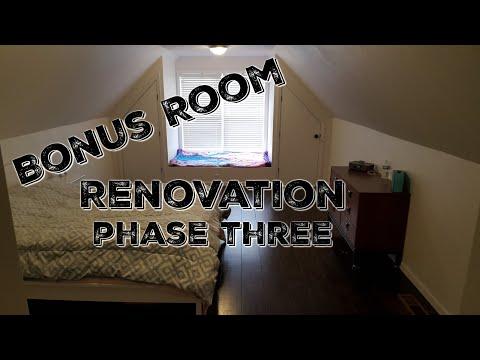 Bonus Room Renovation - Complete!