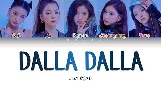 Download ITZY (있지) - DALLA DALLA (달라달라) (Color Coded Lyrics Han/Rom/Eng 작사 ) |Jendukie Video