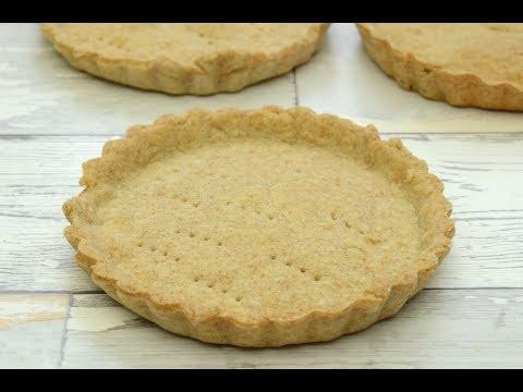 Mini Whole Wheat Quiche, Tart and Pie Crust