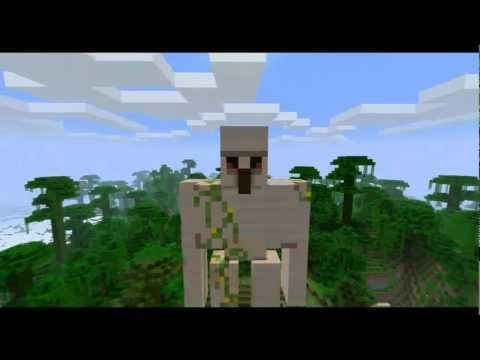 Minecraft Iron Golem Statue HD