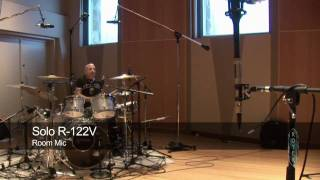 Recording Drums with Royer Ribbons - Ross Hogarth, Kenny Aronoff & Lukas Rossi
